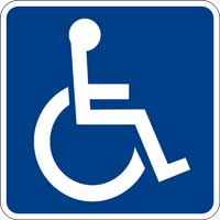 Handicapped Web Accessible Website click